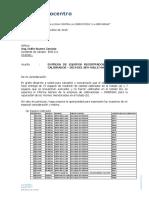Carta Eos Equipos Calibracion