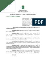 Instrução Normativa Nº 10, De 2017