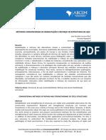 Métodos Convencionais de Reabilitação e Reforço de Estruturas de Aço