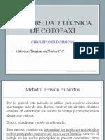 Tension Nodos CC