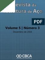 Revista Estrutura de  Aço Volume 5 numero3