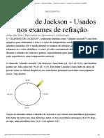 CILINDRO DE JACKSON