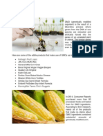GMOs in Food