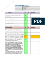 Safety audit checklist