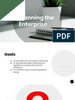 5 Planning the Enterprise