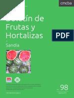 Boletin Frutas Sandia