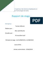 Rapport de Stage(2)