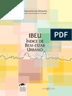 IBEU - Indice de Bem-Estar Urbano - 2013