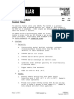 CAT EMCP I Engine Data Sheet 72.5