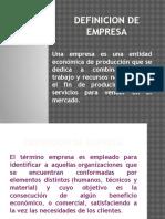 Clases de Empresa