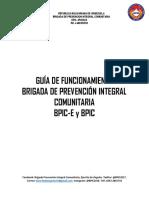 Guia de Funcionamiento BPIC