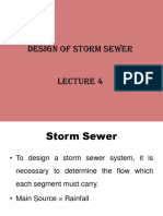 Module - 3 Design of Storm Sewer