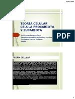 4ta. Clase.teoria Celular y Celulas.2019
