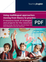 Multilingual approaches