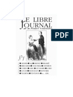 Libre Journal de La France Courtoise 001