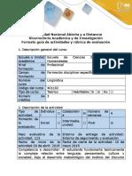 Guía de Actividades y Rubrica de Evaluación - Paso 6 - Entrega Del Informe Final de Investigación