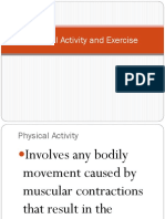 Physical Activity and Exercise