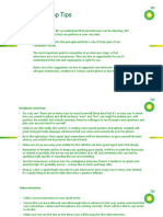 Careers Bp Candidate Support Top Tips