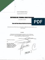 Pdu Rio Negro-sentencia Del Tribunal Constitucional