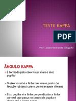 Teste Kappa