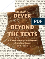 BEYOND THE TEXT , AN ARCHAEOLOGICAL PORTRAIT OF ANCIENT ISRAEL AND JUDAH - William G. Dever.pdf