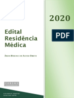 Edital de residência médica USP 2020