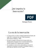 PIMAK-¿Qué impulsa la Innovacción?