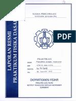 Laporan Resmi Praktikum Koefisien Gesekan (M4)