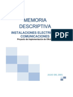 07 Memoria Descriptiva Electrica-Comunicaciones Inteligo Patio Panorama.docx
