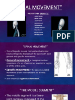 spinal range of movement