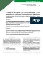 B1 López (2010) Xantomas eruptivos como manifestación inicial.pdf