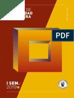 Reporte Estabilidad Financiera Primer Semestre 2019