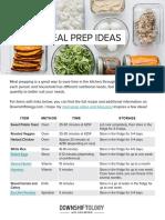 Meal Prep Ideas Downshiftology