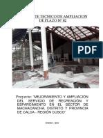 1.- Informe de Ampliacion de Plazo de Obra Ultimo