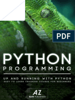 PYTHON_ Learn Python Programming in 90 minutes or Less! (Python, Learning Python, Python Programming, Python Tutorial, Python Programming for Beginners, Python for Dummies Book 1).epub