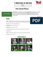 The Good Place Sheet