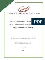 Trabajo 1 - Act-Derecho Romano Marleni