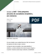 Mises Brasil - Uma Pequena Amostra Do Socialismo Brasileiro, Em Números