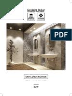 Catalogue Général Faïence 2019-Min