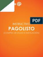 1- Instructivo Pagolisto - Compra de Saldo e Instalación