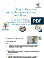 The New Role of Nebulized Steroid for Acute Asthma in Children