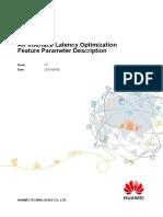 Air Interface Latency Optimization(ERAN15.1_01)