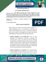 ACTIVIDAD 14 Evidencia 3 Workshop Customer Satisfaction
