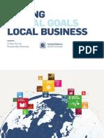 Making Global Goals Locals Business 2017