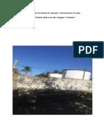 Requalificação do sistema de captação e abastecimento de agua