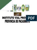 plano vial provincial