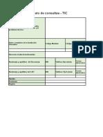 Formato de Consultas - TIC