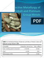 Extractive Metallurgy of Nickel