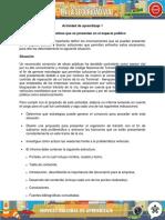 Evidencia Informe Determinar Las Problematicas Que Se Presentan en El Espacio Publico