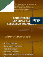 Caracterele Generale Ale Celulei